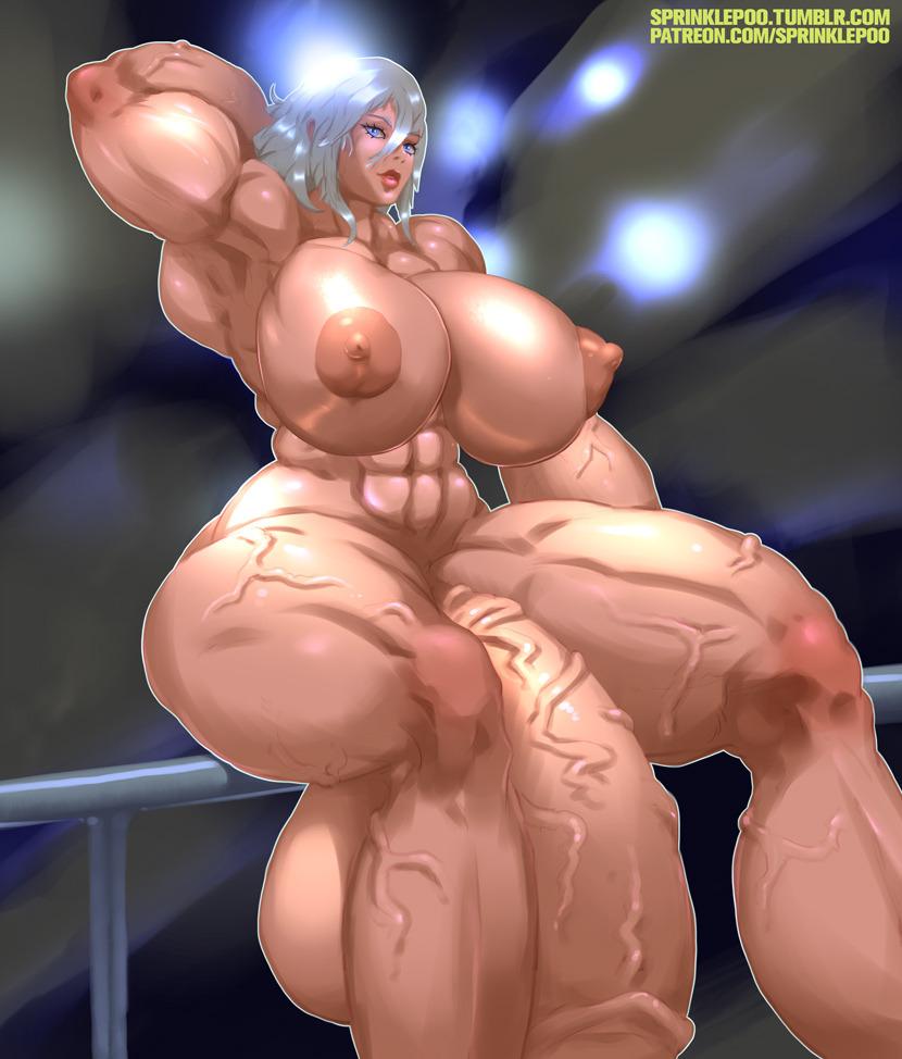 futanari huge boobs